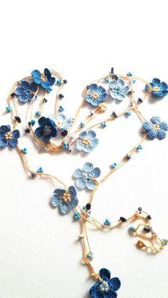 Crochet Leaf Patterns, Crochet Jewelry Patterns, Crochet Leaves, Crochet Patterns Amigurumi, Crochet Motif, Crochet Flowers, Crochet Designs, Crochet Garland, Crochet Decoration