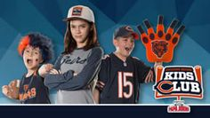 FREE Chicago Bears Kids Club Membership Kit on http://www.icravefreestuff.com/