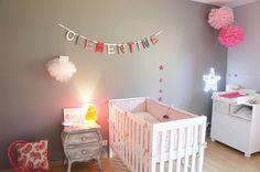 La chambre bébé de Clémentine