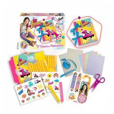 Crea tu diario de patinadora con este colorido kit de Soy Luna. ¡Perfecto para guardar todos tus secretos!