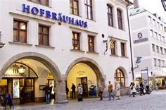 Hofbrauhaus, Munich, Germany.. My favorite place to go for a huge beer that you have to hold the glass with two hands and huge ass pretzel, and you meet amazing people, reminds me of cheers..   we go there everytime we visit..