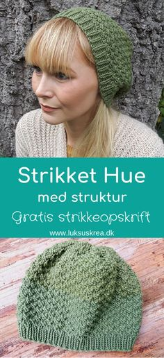 Learn how to knit a gorgeous slouchy beanie, with this easy free knitting pattern. Crochet Pattern, Knit Crochet, Knitting Patterns, Crochet Hats, Knit Cowl, Knit Beanie, Knitting Videos, Free Knitting, Knitted Blankets