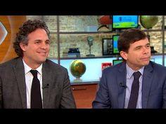 "CBS This Morning: Mark Ruffalo and journalist Michael Rezendes talk ""Spotlight"""