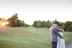 awesome vancouver wedding #sunset #fairway #jennyandbao #richmondnaturepark #woodsy #rustic #nature #pastel #green #forest #portrait #love #ido #wedding #vancouver #richmond #photographer #gotmarried #tiedtheknot #bouquet #flowers #greysuit #golfcourse #bluesky by @modernromanceweddings  #vancouverflorist #vancouverwedding #vancouverwedding