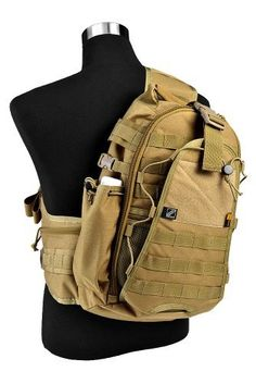 Jtech Gear City Ranger Tactical Combat Outdoor Biking Shoulder Backpack (CM) by Jtech Gear. $95.99. YKK fasteners. Cordura Hi-Strength Nylon. Teflon Protection. Water Repellent. The City Ranger Shoulder Pack is a horizontal single-sling backpack that holds many features for the typical outdoorsman or urban explorer. The sling allows for MOLLE and Alice clip attachments and buckles to the waist with quick detach YKK fasteners.   The pack also has a waist buckle to ensure stability...