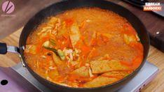 Rabokki Korean Sweet & Spicy Ramen Recipe & Video - Seonkyoung Longest Spicy Ramen Recipe, Ramen Recipes, Curry Recipes, Easy Asian Recipes, Korean Recipes, Ethnic Recipes, Tteokbokki Recipe Easy, Simple Beef Curry