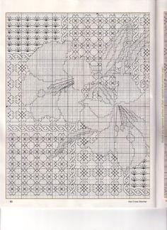 Gallery.ru / Фото #4 - blackwork - shamrock Blackwork Cross Stitch, Biscornu Cross Stitch, Tiny Cross Stitch, Blackwork Embroidery, Cross Stitch Books, Cross Stitch Flowers, Cross Stitch Charts, Cross Stitch Designs, Cross Stitching
