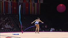 Evgenia Kanaeva, Ribbon, Montpellier 2011