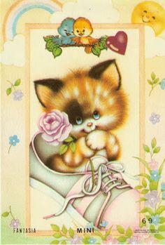 ARTES DA LIVIA: Coleção Papel de Carta II Cartoon Pics, Cute Cartoon, Animal Pictures, Cute Pictures, Cute Animal Illustration, Animal Illustrations, Kitten Images, Baby Animals, Cute Animals