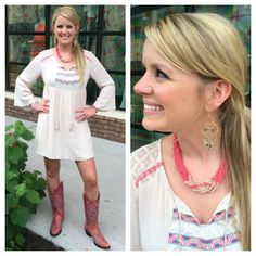 **NEW** Sweet summer dress perfect for a Sunday afternoon!  Southern Thread Austin, TX.