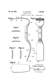 Patent US1783078 - Bumping-out tool - Google Patents