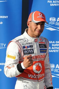Lewis Hamilton after qualification - GP Australia 17th March 2012 #formula1 #f1 #australia