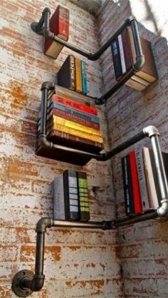 steam punk bookcase