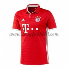 Fodboldtrøjer Bundesliga Bayern Munich 2016-17 Hjemmetrøje