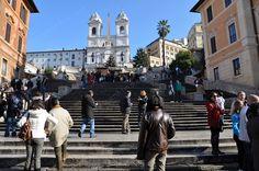 Gradinata di Trinità dei Monti - Roma - Italia