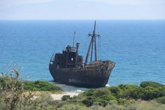 Shipwrecks Along South Africa's Coast