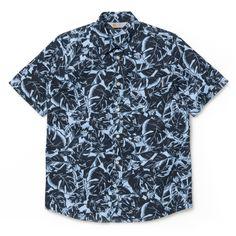 CARHARTT  S/S Marlow Shirt Lotus Print, Mineral    78€