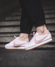This Nike Classic Cortez Is Pink Like a Ballet Slipper: The palest pink to  grace a sneaker this season.