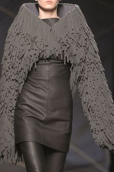 Future Fashion, Girl in Black, Future Girl, Avant-Garde, Dark Fashion, Gareth Pugh Fall 2012