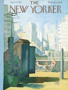 The New Yorker - Saturday, June 22, 1963 - Issue # 2001 - Vol. 39 - N° 18 - Cover by : Arthur Getz