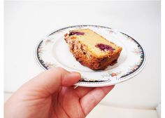 today in ACE/THINGS :: How I Made Gluten-Free Berry Afternoon Tea Loaf