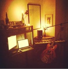 @bennsnell working on the next demo for #riverboundproject from Berlin.. #studio #recording
