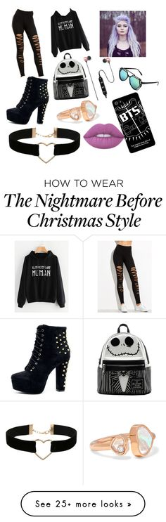 """Untitled #3"" by kleitch on Polyvore featuring Miss Selfridge, Loungefly, Chopard, Polaroid, WithChic, SW Global and Lime Crime"