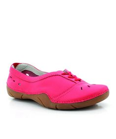 Look at this #zulilyfind! Pink Lark Leather Shoe by Propét #zulilyfinds