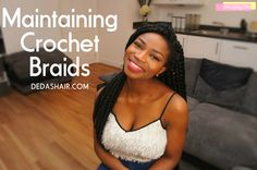 Hello Guys, i will show you how to maintain your Braid Styles. Crochet Hair Styles, Crochet Braids, Beauty Tips, Beauty Hacks, Hair Beauty, Black Hairstyles, Summer Hairstyles, Protective Styles, Twists