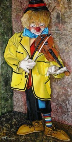 El Violinista >Angel Edecio Cárdenas.