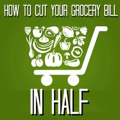 Secrets to beat rising food costs for your family and cut your grocery bill in half! #family #finance
