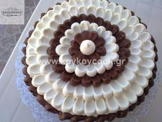 1701201421383 (2) Chocolate And Vanilla Cake, Pie, Desserts, Cakes, Food, Torte, Tailgate Desserts, Cake, Deserts