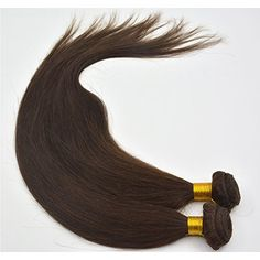 Moresoo 1 Bundle 100gram 18inch Weaving Extensions 2# Darkest Brown Hair Weave Moresoo http://www.amazon.co.uk/dp/B00XMY8P1W/ref=cm_sw_r_pi_dp_pQwvvb1DERNNN How about changing hair color to darkest brown? On our store, you will get the hair you wanna.
