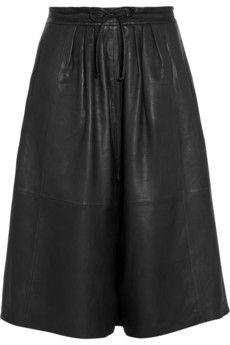 Paul & Joe Phuket leather culottes | NET-A-PORTER