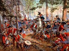 Battle Of Cowpens January 17, 1781: Maryland and Virginia Continentals surge into the 7th
