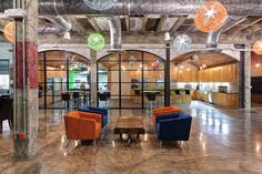 iProspect's Raw and Open Warehouse Offices - Office Snapshots
