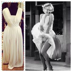 White Marilyn Monroe style dress - size UK 12 - £38 #marilynmonroe #sevenyearitch #whitedress #icon #iconic #jfk #cute #halloween #fancydress #dressup #normajeane #movie #oldhollywood #nostalgia #film #hollywood #pinup #gentlemenpreferblondes #diamondsareagirlsbestfriend #historic #moment #sultry #happybirthdaymrpresident #blonde