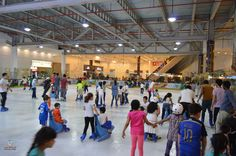 Skate with us at Sharjah's largest ice Skating Rink at Al Shaab Village