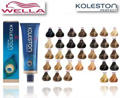 Wella Koleston Perfect 100 Genuine Rich Naturals Range Permanent Colour Dye