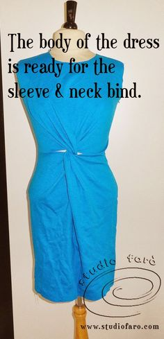 well-suited: JERSEY TWIST DRESS - Sampled!