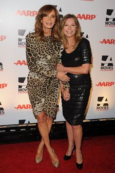 These angels are still cool and stylish! Jaclyn Smith and Cheryl Ladd