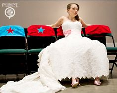 Roller Derby Bride,,,,good thing i didnt start this before our wedding!! i would wore skates!!!