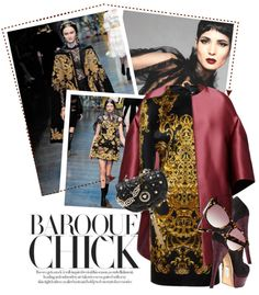 """Baroque Chick"" by theacademic ❤ liked on Polyvore"