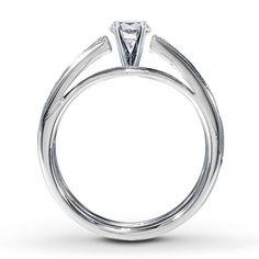 2-Piece Bridal Setting 7/8 ct tw Diamonds 14K White Gold