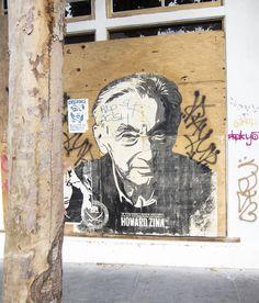 Howard Zinn, SF Street Art, 2012