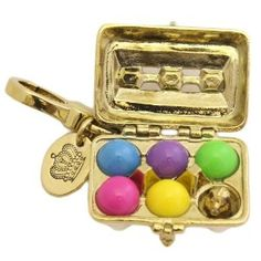 Juicy Couture Grade A Eggs charm. 2011 Easter Limited Edition. $44.99