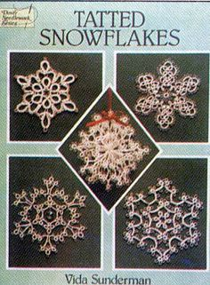 Handy Hands Tatting. I have this book, it has some of my favourite snowflake patterns in it.