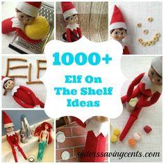 1000+ Elf on the Shelf ideas!