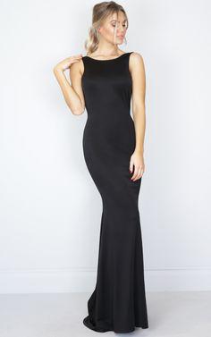 Slow Dance maxi dress in black SHOWPO Fashion Online