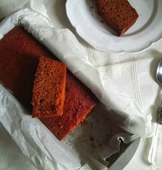 Bolo de beterraba e laranja [sem açúcar e sem glúten]
